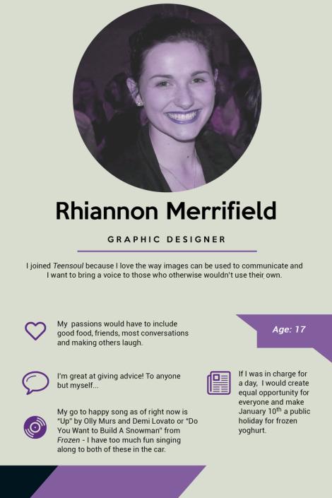 Rhiannon Merrifield - Presentation