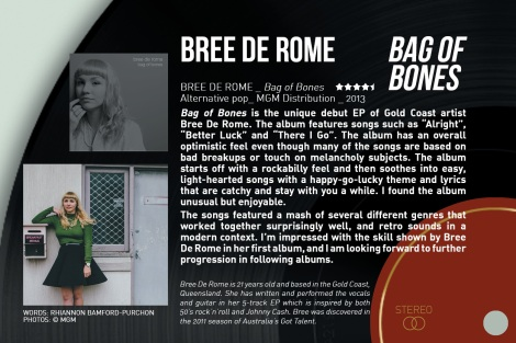 Bree de Rome - review