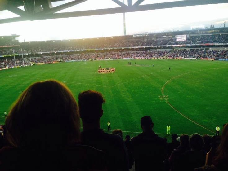 The players paid their tribute to Phil Walsh.