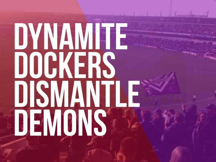 Dockers v Demons cover