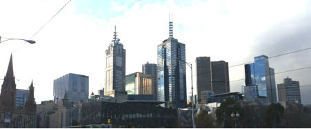 Melbourne Cityscape (July 2016). Photocredit: Laura Green
