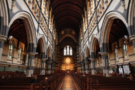 Interior of St. Paul's Cathedral. Sourced via Royal Melbourne Philharmonic.