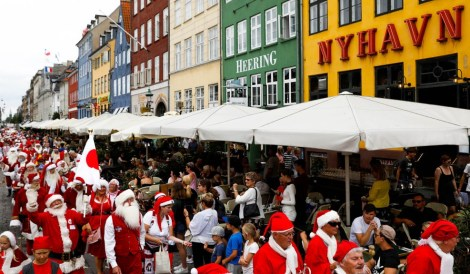 DENMARK-SANTA CONVENTION/